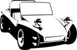 Thumbnail VW Buggy vector image