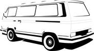 Thumbnail VW Camper 25 Model Vector