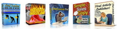 Thumbnail 10 Source Code PLR Software Pkg + Private Label Rights