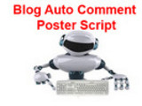 Thumbnail New Blog Auto Comment Poster Script working.