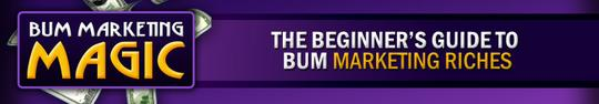Pay for Bum Marketing Magic - Article Marketing - Make Money
