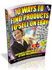 Thumbnail 10 Ways To Find Products To Sell On eBay