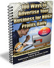 Thumbnail 100 Ways To Advertise Your Business For Huge Profits Daily
