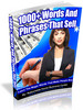 Thumbnail 1000+ Words And Phrases That Sell