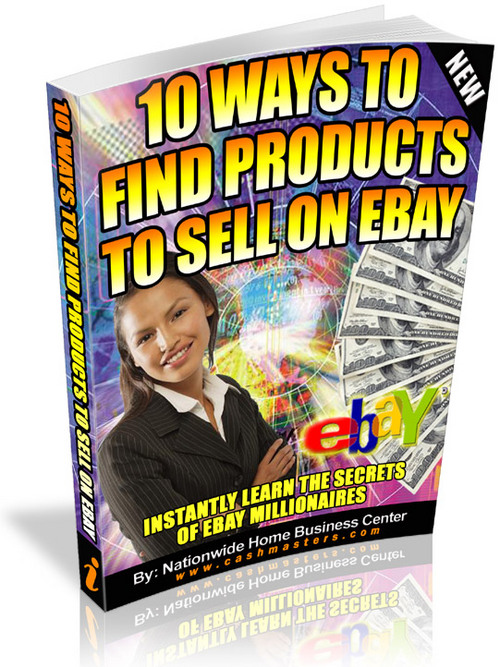 how to find wholesale products to sell on ebay