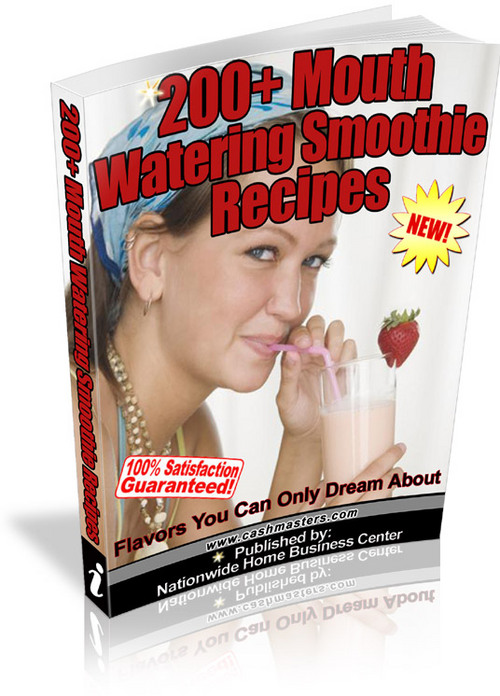 Pay for 200+ Mouth Watering Smoothie Recipes