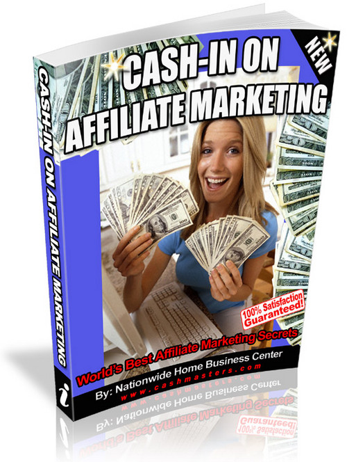 Pay for Cash-In On Affiliate Marketing