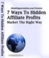 Thumbnail 7 Ways to Hidden Affiliate Profits.rar
