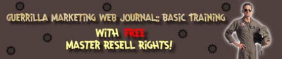 Thumbnail GUERRILLA MARKETING WEB JOURNAL, VOLUME 1,2,3,