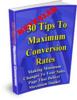 Thumbnail 30 Tips To Maximum Conversion Rates