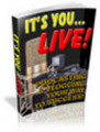 Thumbnail Its You Live sample (PLR)