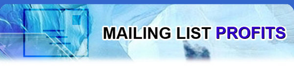 Pay for MAILING LIST PROFITS