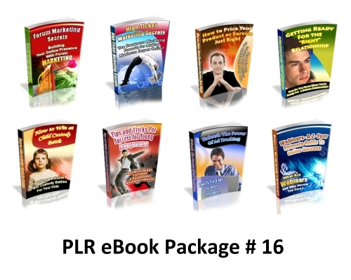 Pay for PLR eBook Package .zip
