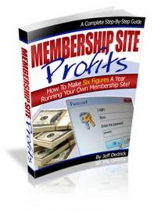 Pay for Membership Site Profits.zip