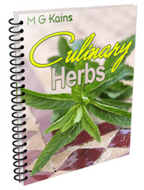 Pay for culinary herbs PLR.zip