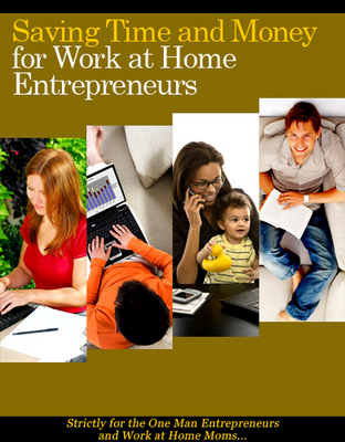 Pay for *NewSaving Time and Money for Work at Home Entrepreneurs PLR