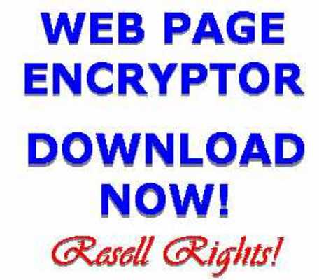 Pay for Anti web spider encryption tool
