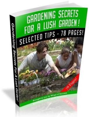 Pay for Gardening Secrets For A Lush Garden! MRR