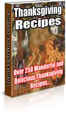 Pay for Thanks giving Recipes MRR