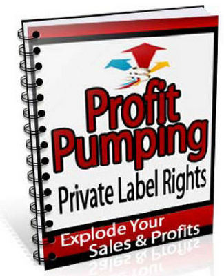 Pay for Profit Pumping Private Label Rights MRR