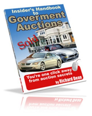 Pay for government auction handbook MRR