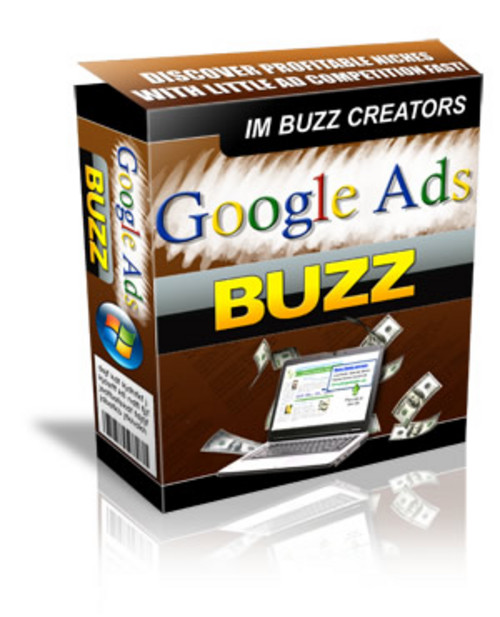 Pay for Google Ads Buzz software