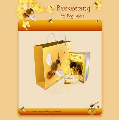 Beginners beekeeping bible plr download educational - Beekeeping beginners small business ...