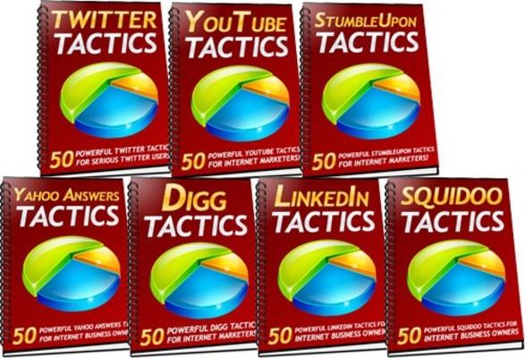 Pay for 350 Social Media Tactics MRR