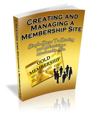 Pay for Managing Your Own Membership Site