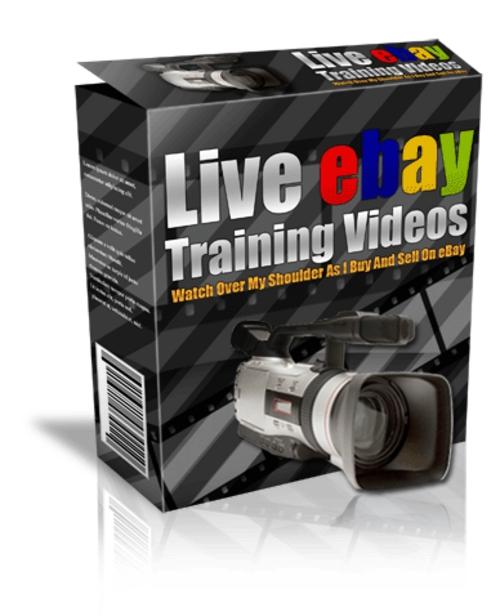 Pay for Live eBay Training Videos  .rar