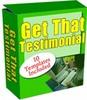 Thumbnail Get That Testimonial
