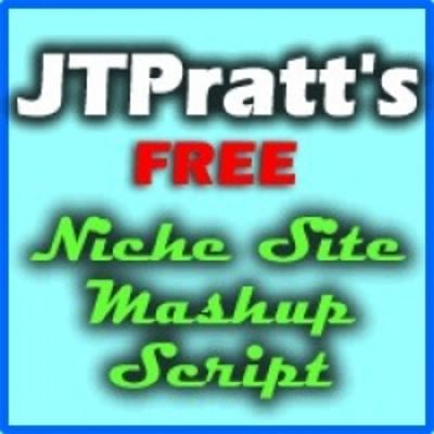 Free niche site creator