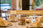 Thumbnail 20 HD Restaurant Related Stock Photos