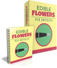 Thumbnail Edible Flowers PLR Articles