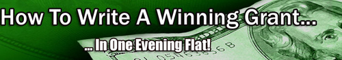 Pay for How To Write A Winning Grant Application In One Evening!