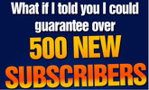 Thumbnail The Game Plan -500 subscribers per day Youtube