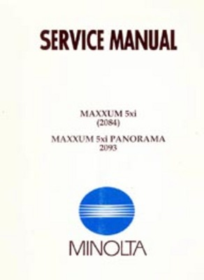 Pay for Minolta 5xi / Maxxum5xi Camera Repair Service Manual