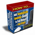 Thumbnail *NEW!* Blogging Automatic Content