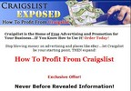 Thumbnail *NEW!* Profit From Craigslist! Craigslist Exposed