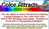 Thumbnail *NEW!* Increase Your Sales By Choosing The Right Color