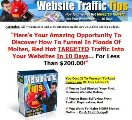 Pay for *NEW!* Website Traffic! How To Drive Targeted Traffic