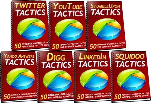Pay for *HOT!* 350 Social Media Tactics