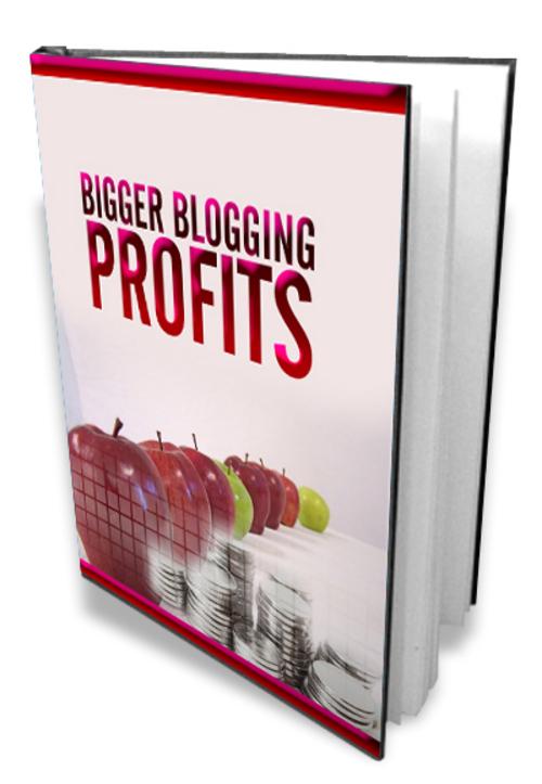 Pay for *HOT!* Bigger Blogging Profits
