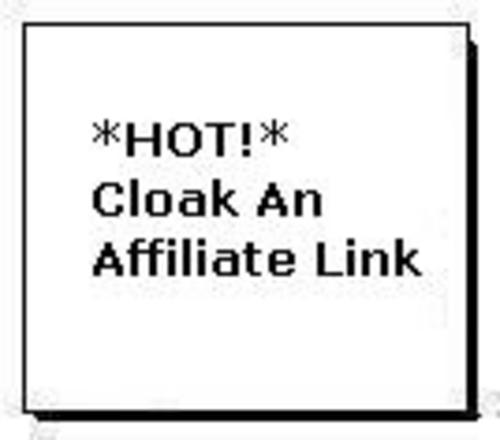 Pay for *HOT!* Cloak An Affiliate Link