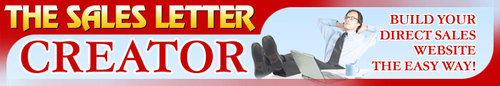 Pay for *HOT!* Sales Letter Creator Master Resell Rights