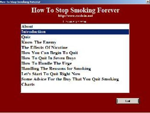 Pay for *NEW!* How To Stop Smoking Permanently