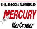 Thumbnail MERCURY MERCRUISER 8.1L 496CID # 30 SERVICE REPAIR MANUAL