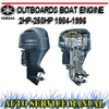 Thumbnail YAMAHA BOAT ENGINE 2HP-250HP 1984-1996 SERVICE REPAIR MANUAL