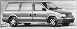 Thumbnail CHRYSLER VOYAGER PLYMOUTH 1991-1995 WORKSHOP SERVICE MANUAL