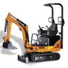 Thumbnail HANIX H09D MINI BOOM EXCAVATOR WORKSHOP SERVICE MANUAL